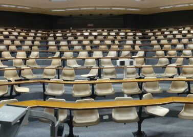 Leslie Social lecture theatre at the University of Cape Town [source: Ian Barbour]