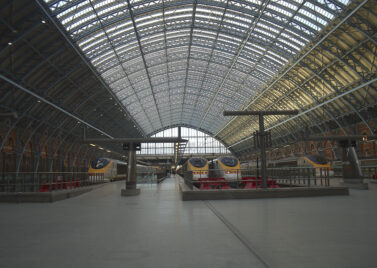 Eurostars at St Pancras [Source: JackPeasePhotography]
