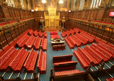 House of Lords Chamber [source: UK Parliament]