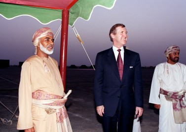 Qaboos in Oman, 1998 [source: Wikimedia]