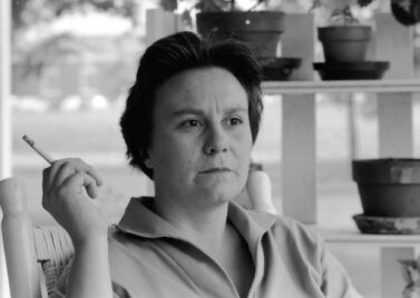 Harper Lee in 1962, , two years after Mockingbird was published (Source: Jbarta)