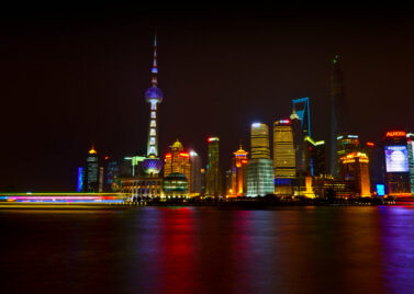 The Pudong area of Shanghai, as seen from the Bund (Source: Flickr: mclcbooks)