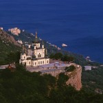 The Resurrection Church in the Crimean resort of Foros, commisioned by Russian 'Tea King' Alexander Kuznetsov