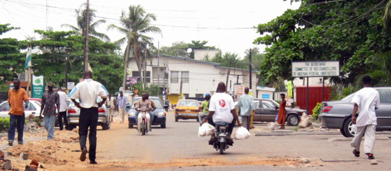 The Nigerian capital, Lagos. What impact will falling oil prices have on the country's economy?