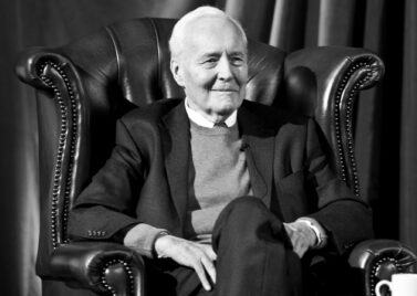 Tony Benn at the Cambridge Union in 2012