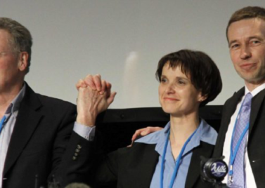 Konrad Adam, Frauke Petry and Bernd Lucke