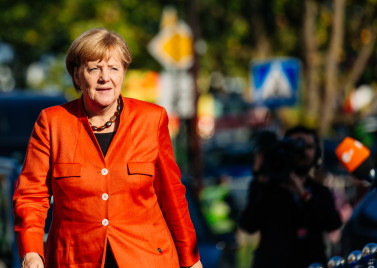 Merkel in 2017. Photo: EU2017EE via Flickr.