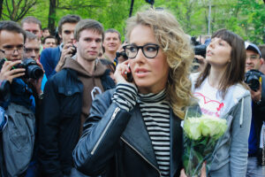 Kseniya Sobchak, source: wikimedia commons
