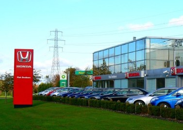 Brian Robert Marshall / Honda dealership. West Swindon / CC BY-SA 2.0